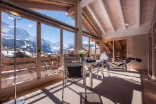 Ferienwohnung in Wengen - Chalet Schneehoren Penthouse