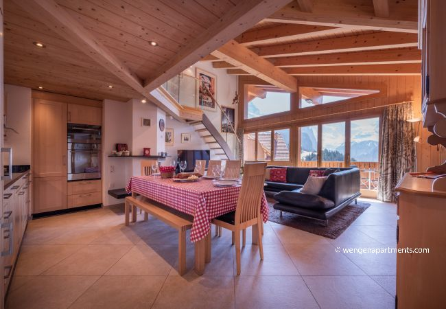 Ferienwohnung in Wengen - Chalet Aquila 7 Penthouse