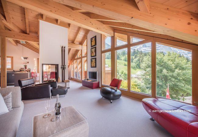 Ferienwohnung in Wengen - Chalet Fortuna 4 Penthouse