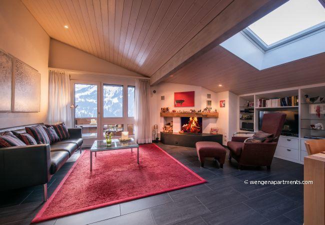Ferienwohnung in Wengen - Chalet Primula Penthouse