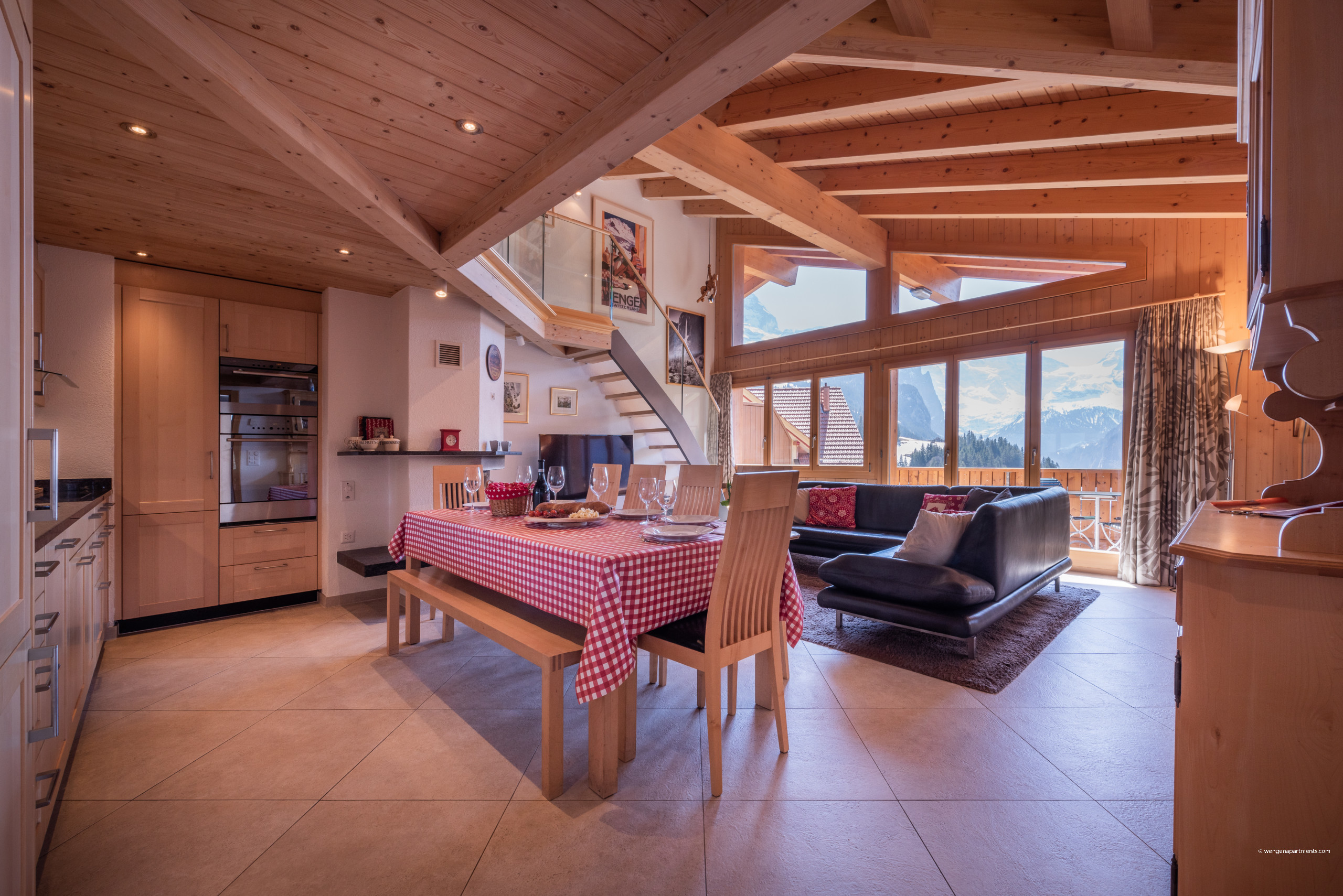 in Wengen - Chalet Aquila 7 Penthouse