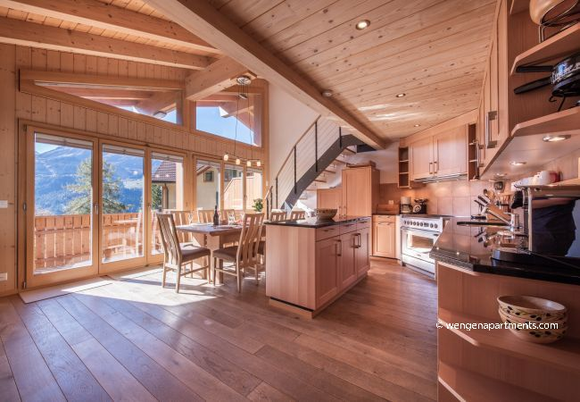 Apartment in Wengen - Chalet Aquila 8 Penthouse