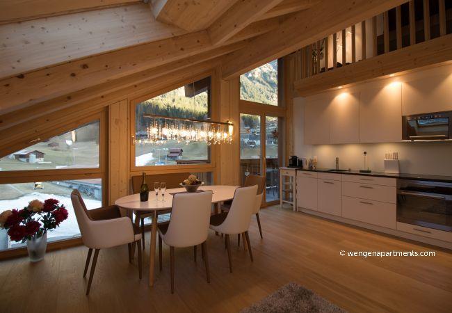 Apartment in Wengen - Chalet Belmont Penthouse