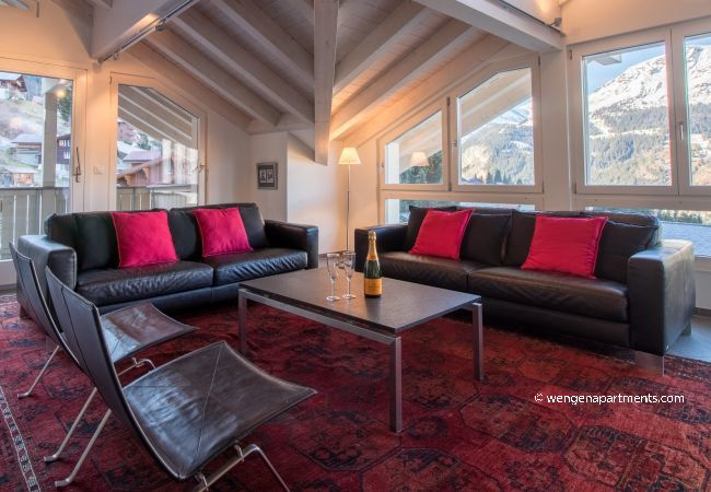 Apartment in Wengen - Chalet Brunner Penthouse
