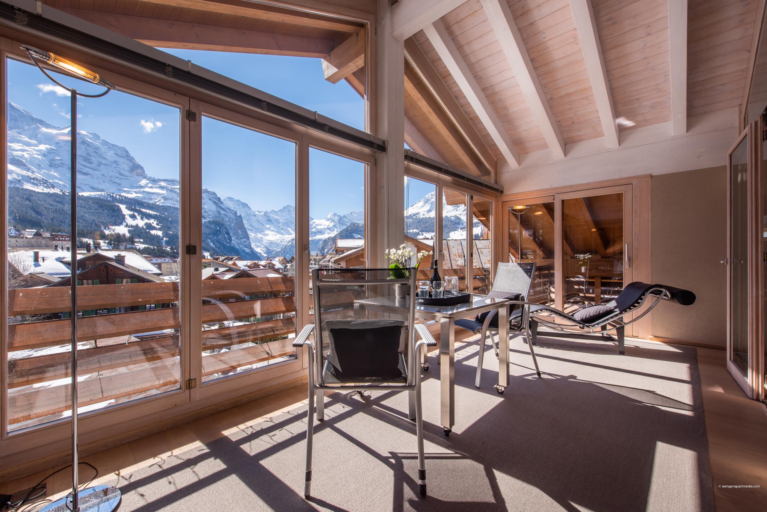 in Wengen - Chalet Schneehoren Penthouse