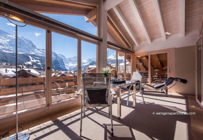 Apartment in Wengen - Chalet Schneehoren Penthouse