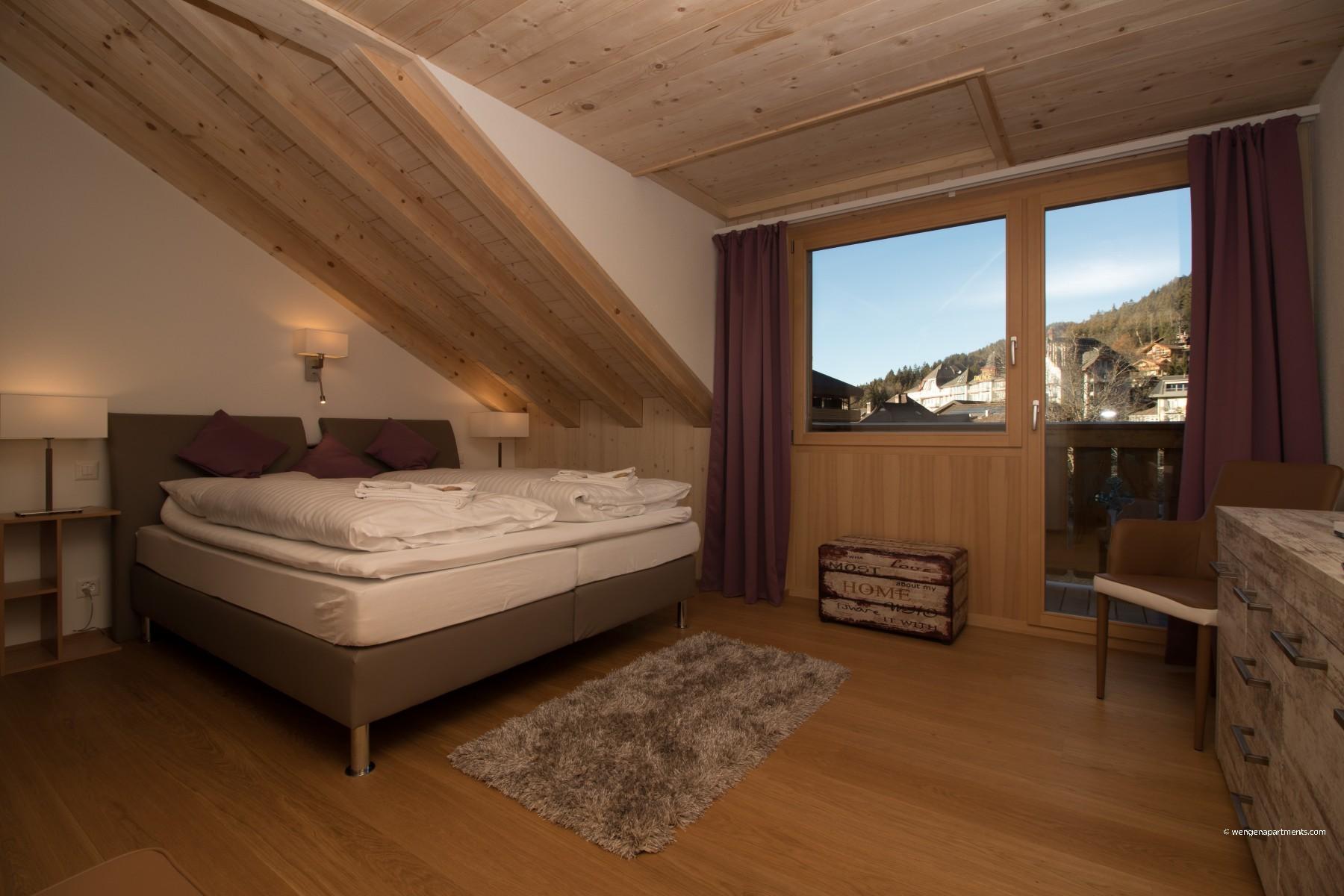 10 modern schlafzimmer bank designs, apartments in wengen - chalet belmont penthouse, Design ideen